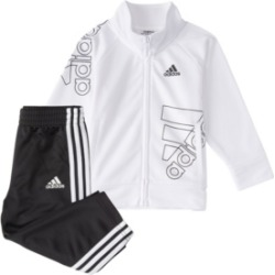 adidas Little Boys Zip Front Brand Love Jacket Pant Set found on MODAPINS from Macy's for USD $36.00