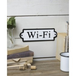 "Vip Home & Garden Metal ""Wifi"" Word Art"