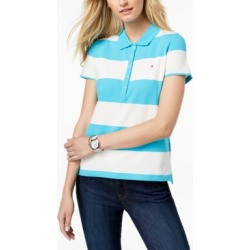 Tommy Hilfiger Striped Pique Polo Shirt found on MODAPINS from Macy's for USD $19.75