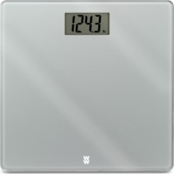 Weight Watchers Scales by Conair Glass Precision Extra-Slim Electronic Scale Bedding