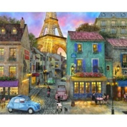 Springbok Puzzles Eiffel Magic 1000 Piece Jigsaw Puzzle