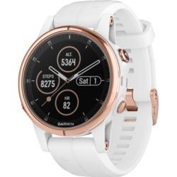 Garmin Unisex fenix 5S Plus White Silicone Strap Smart Watch 42mm found on Bargain Bro Philippines from Macy's Australia for $798.33