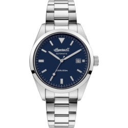 Reliance Automatic with Stainless Steel Case and Bracelet and Blue Dial