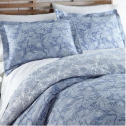 Southshore Fine Linens Perfect Paisley Down Alt 3 Piece Reversible Comforter Set, King/California King Bedding