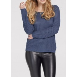 Tribal Women's Long Sleeve Boat Neck Sweater found on Bargain Bro from Macy's for USD $78.28