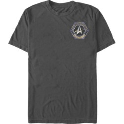 Star Trek Men's Deep Space Nine Starfleet Command Mission Certified Short Sleeve T-Shirt found on Bargain Bro Philippines from Macy's for $24.99