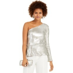 Inc One-Shoulder Sequined Peplum Top, Created For Macy's found on Bargain Bro Philippines from Macy's Australia for $94.62