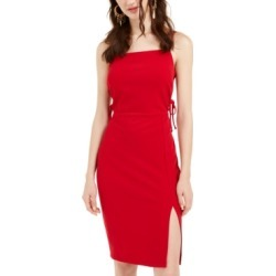 bebe Lace-Up Bodycon Dress found on MODAPINS from Macy's for USD $49.99