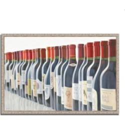 Tangletown Fine Art Splendid Reds by Marco Fabiano Fine Art Giclee Print on Gallery Wrap Canvas, 38