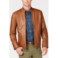 Tasso Elba Men's Pietro Leather Jacket, Created for Macy's found on MODAPINS from Macys CA for USD $221.43