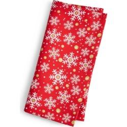 Fiesta Snowflake Print Napkin