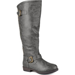 Journee Collection Women's Extra Wide Calf Spokane Boot Women's Shoes found on Bargain Bro India from Macy's for $83.00
