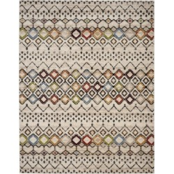 Safavieh Amsterdam Ivory and Multi 8' x 10' Area Rug found on Bargain Bro India from Macy's for $200.99