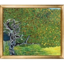 La Pastiche By Overstockart Golden Apple Tree Luxury Line with Luminoso Frame, 23
