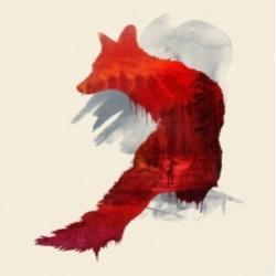 Robert Farka Bad Memories Fox Canvas Art - 15.5