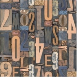 Holli Conger Typography Photography repeat 3 Canvas Art - 19.5