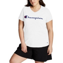 Champion Plus Size Logo T-Shirt found on Bargain Bro India from Macy's for $25.00