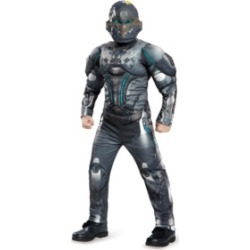 Halo Spartan Locke Classic Muscle Little and Big Boys Costume