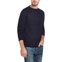 Weatherproof Vintage Men's Cable Yolk Sweater