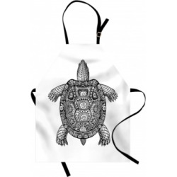 Ambesonne Turtle Apron