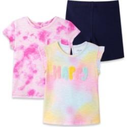 Little Me Baby Girls Tie Dye Play Set, 3 Piece