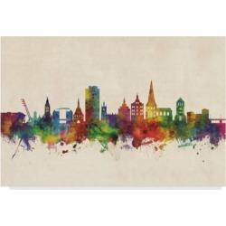 Michael Tompsett Rostock Germany Skyline Canvas Art - 15