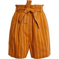 Bcbgmaxazria Striped Tie-Waist Shorts found on MODAPINS from Macy's for USD $84.00