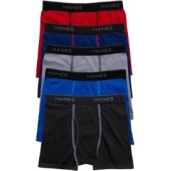 Big Boys Ultimate Cotton Blend Assorted Boxer Briefs, Pack of 5