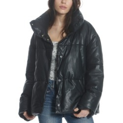 Vigoss Faux-Leather Puffer Jacket found on Bargain Bro Philippines from Macy's for $128.00