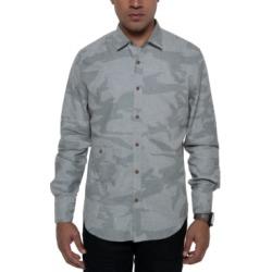 Sean John Men's Large Scale Camo Shirt