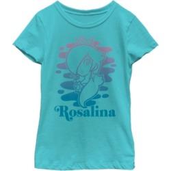 Fifth Sun Nintendo Big Girl's Super Mario Rosalina Gradient Outline Portrait Short Sleeve T-Shirt found on Bargain Bro India from Macys CA for $23.08