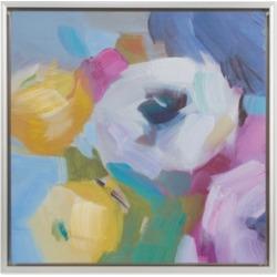 Madison Park Bouquet Framed Hand-Embellished Canvas Print