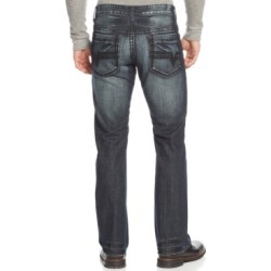 Inc Men's Modern Bootcut Jeans, Created for Macy's found on MODAPINS from Macy's for USD $24.93