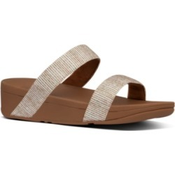 FitFlop Lottie Glitter Stripe Sandals Women's Shoes found on Bargain Bro India from Macy's for $80.00