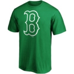 Majestic Men's Boston Red Sox St. Pattys Bold Logo T-Shirt found on Bargain Bro India from Macy's for $28.00