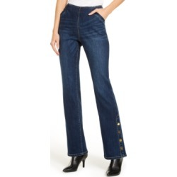 Inc Snap-Hem Bootcut Jeans, Created for Macy's found on MODAPINS from Macys CA for USD $83.42