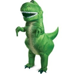 BuySeasons Toy Story 4: Rex Inflatable Adult Costume