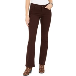Style & Co Petite Tummy-Control Bootcut Jeans, Created for Macy's