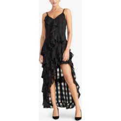 Rachel Rachel Roy Remi Ruffled Checkered Dress, Created for Macy's found on Bargain Bro India from Macys CA for $99.97