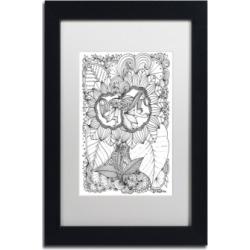 KCDoodleArt Fairy 18 Matted Framed Art - 1