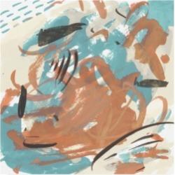 Melissa Wang Abstract Composition I Canvas Art - 19.5