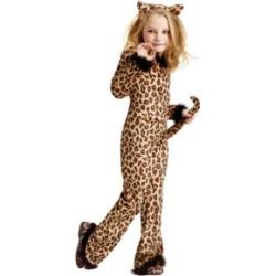 Pretty Leopard Little and Big Girls Costume