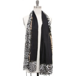 Inc International Concepts Leopard Buckle Border Pashmina, Created for Macy's found on Bargain Bro Philippines from Macy's for $18.00