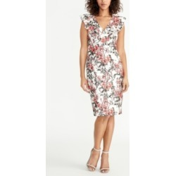 Rachel Rachel Roy Sleeveless Printed Lace Ruffle Front Dress found on MODAPINS from Macy's for USD $69.99