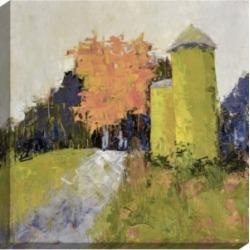 "Paragon Silos- Gallery Wrap Wall Art, 37"" x 37"""