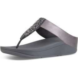 FitFlop Women's Sparkle Crystal Thong Sandals Women's Shoes found on Bargain Bro India from Macy's for $100.00