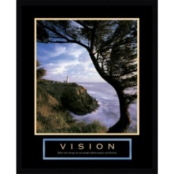 Amanti Art Vision- Lighthouse Framed Art Print