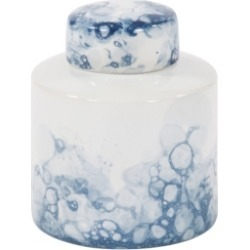 Howard Elliott Blue and White Porcelain Tea Jar, Small found on Bargain Bro Philippines from Macy's for $117.00