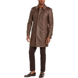 Tallia Men's Faux Snakeskin Trench Coat found on MODAPINS from Macy's for USD $58.96