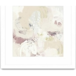 "Giant Art Hanami I Matted and Framed Art Print, 36"" x 36"""